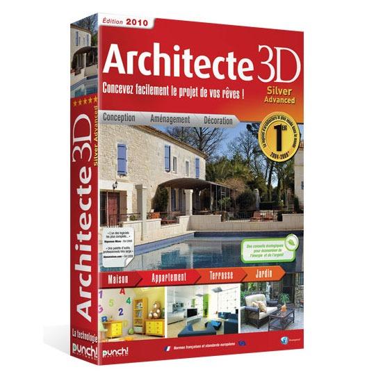 Architecte 3d silver advanced 2010 avanquest for Architecte 3d 2010
