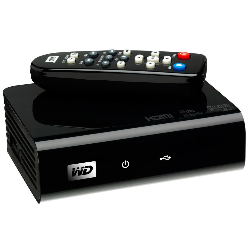 western digital wd tv hd media player lecteur multim dia. Black Bedroom Furniture Sets. Home Design Ideas