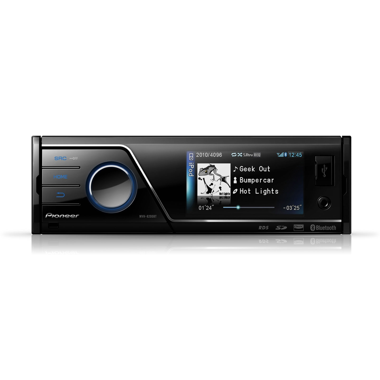 pioneer mvh 8200bt autoradio pioneer sur. Black Bedroom Furniture Sets. Home Design Ideas