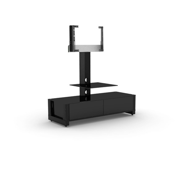 elmob optima op 120 51 noir meuble tv elmob sur. Black Bedroom Furniture Sets. Home Design Ideas