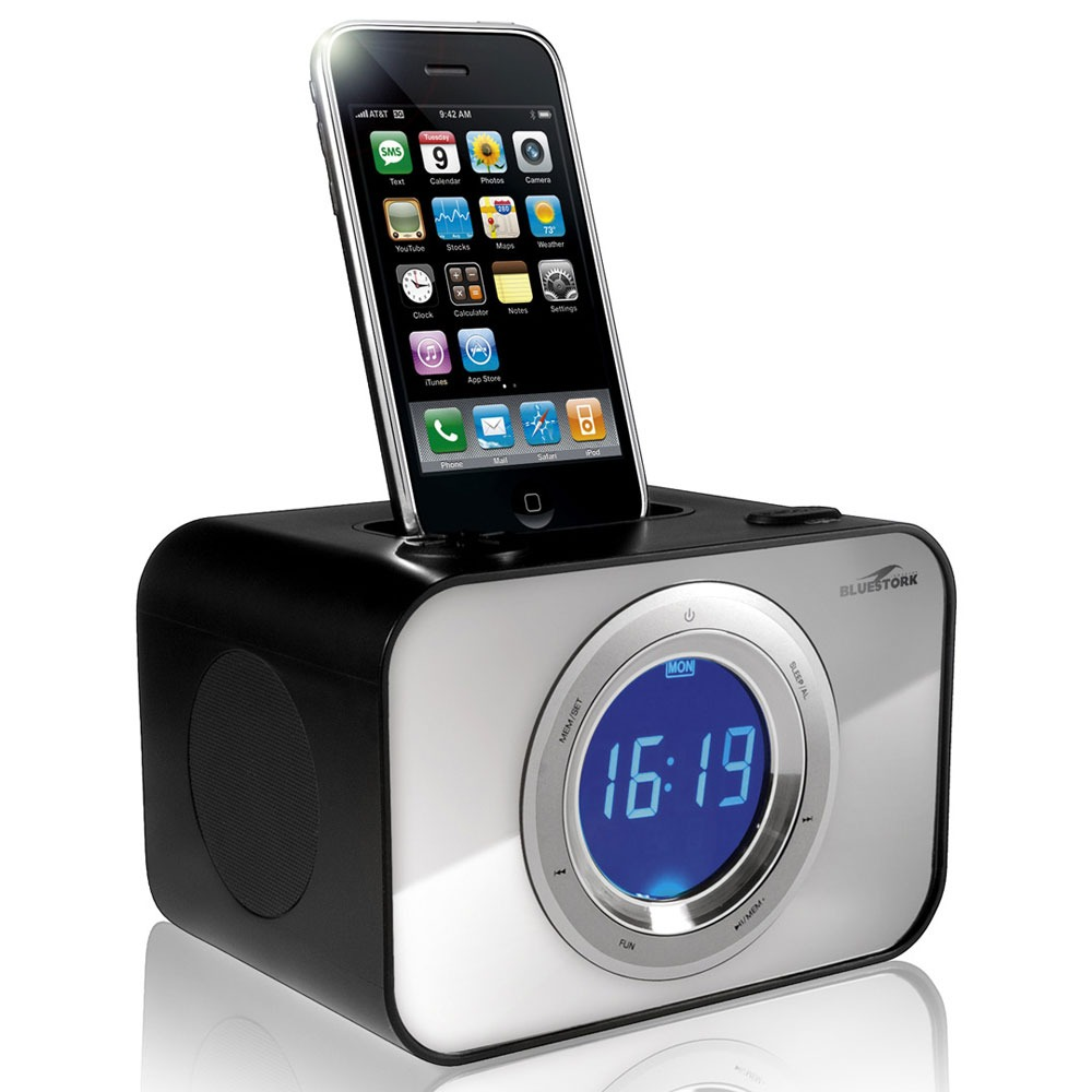 bluestork wakeup weeky dock enceinte bluetooth. Black Bedroom Furniture Sets. Home Design Ideas