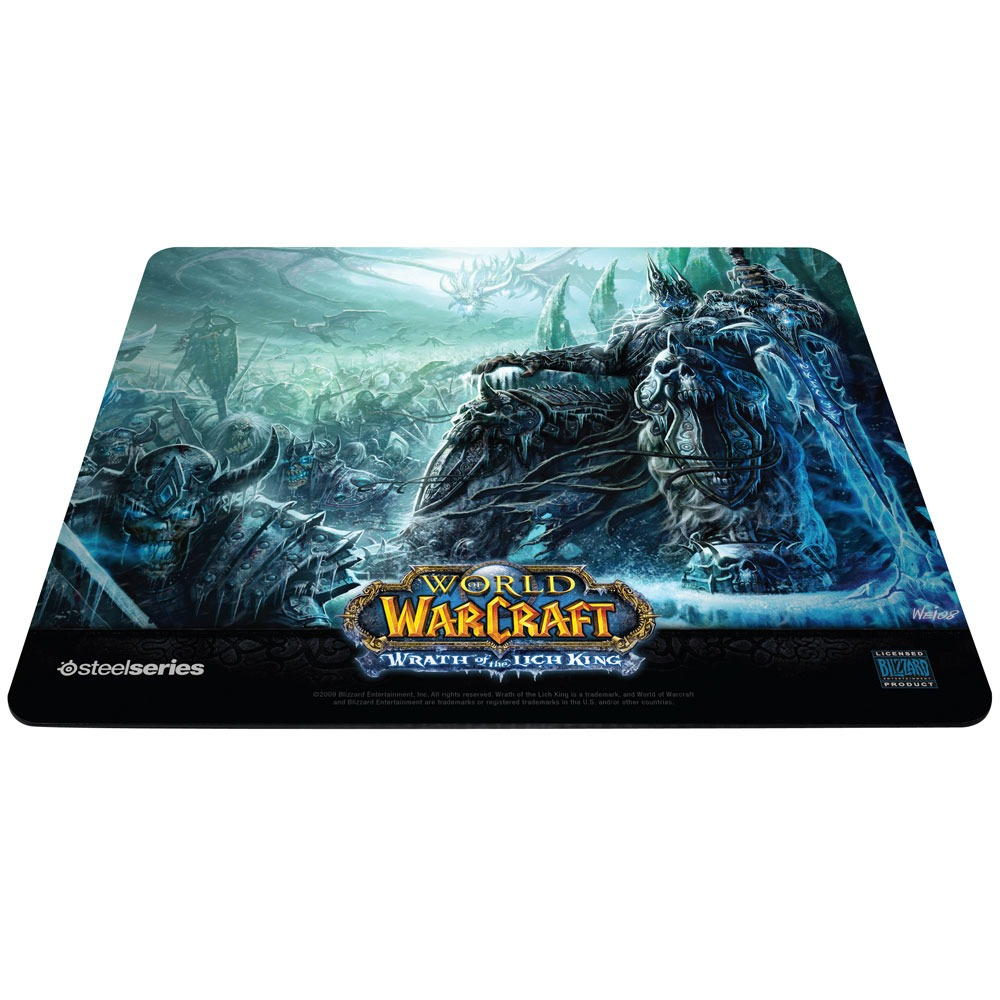 steelseries qck limited edition world of warcraft march of the scourge tapis de souris. Black Bedroom Furniture Sets. Home Design Ideas