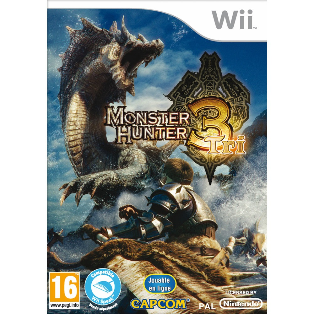 LDLC.com Monster Hunter Tri (Wii) Monster Hunter Tri (Wii)