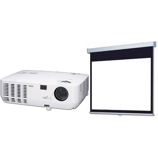 nec np210 ecran ldlc vid oprojecteur nec sur. Black Bedroom Furniture Sets. Home Design Ideas
