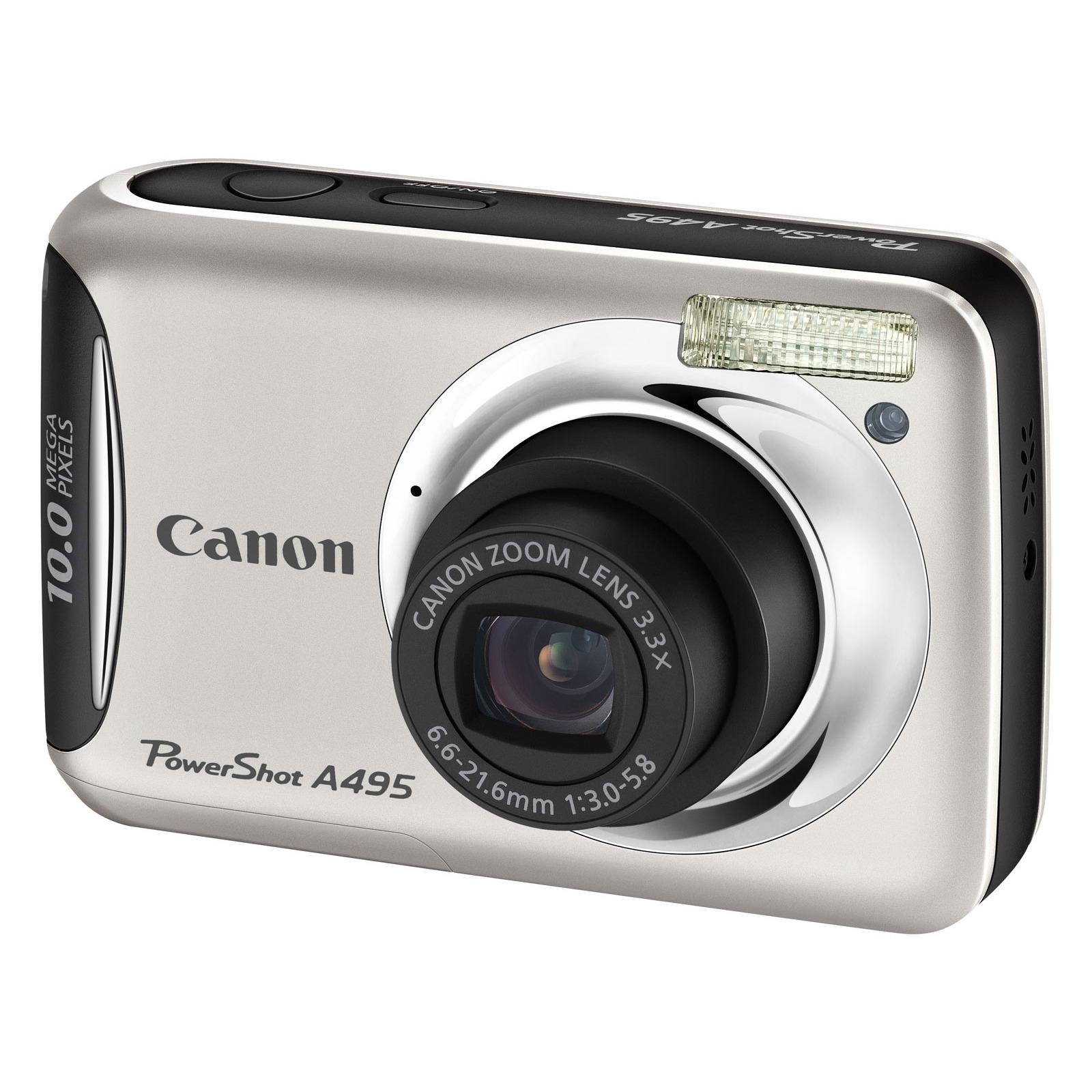 Canon powershot a495 argent housse canon dcc 480 for Housse appareil photo canon