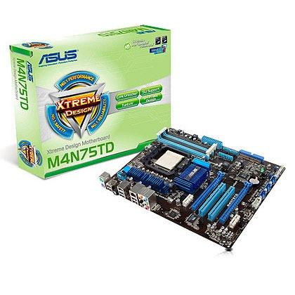 Carte mère ASUS M4N75TD Carte mère ATX Socket AM3 NVIDIA nForce 750a SLI (garantie 3 ans)
