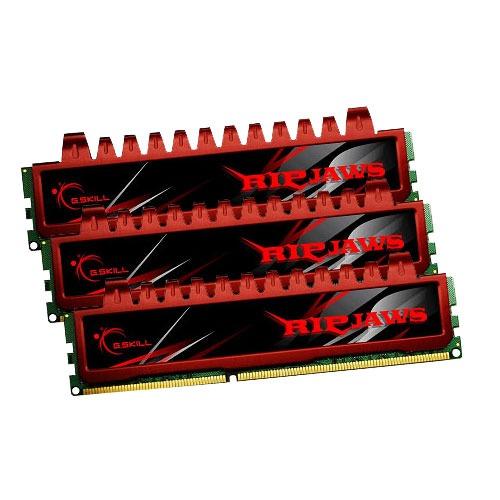 Mémoire PC G.Skill RL Series RipJaws 12 Go (3x 4Go) DDR3 1600 MHz G.Skill RL Series RipJaws 12 Go (kit 3x 4 Go) DDR3-SDRAM PC3-12800 - F3-12800CL9T-12GBRL (garantie 10 ans par G.Skill)