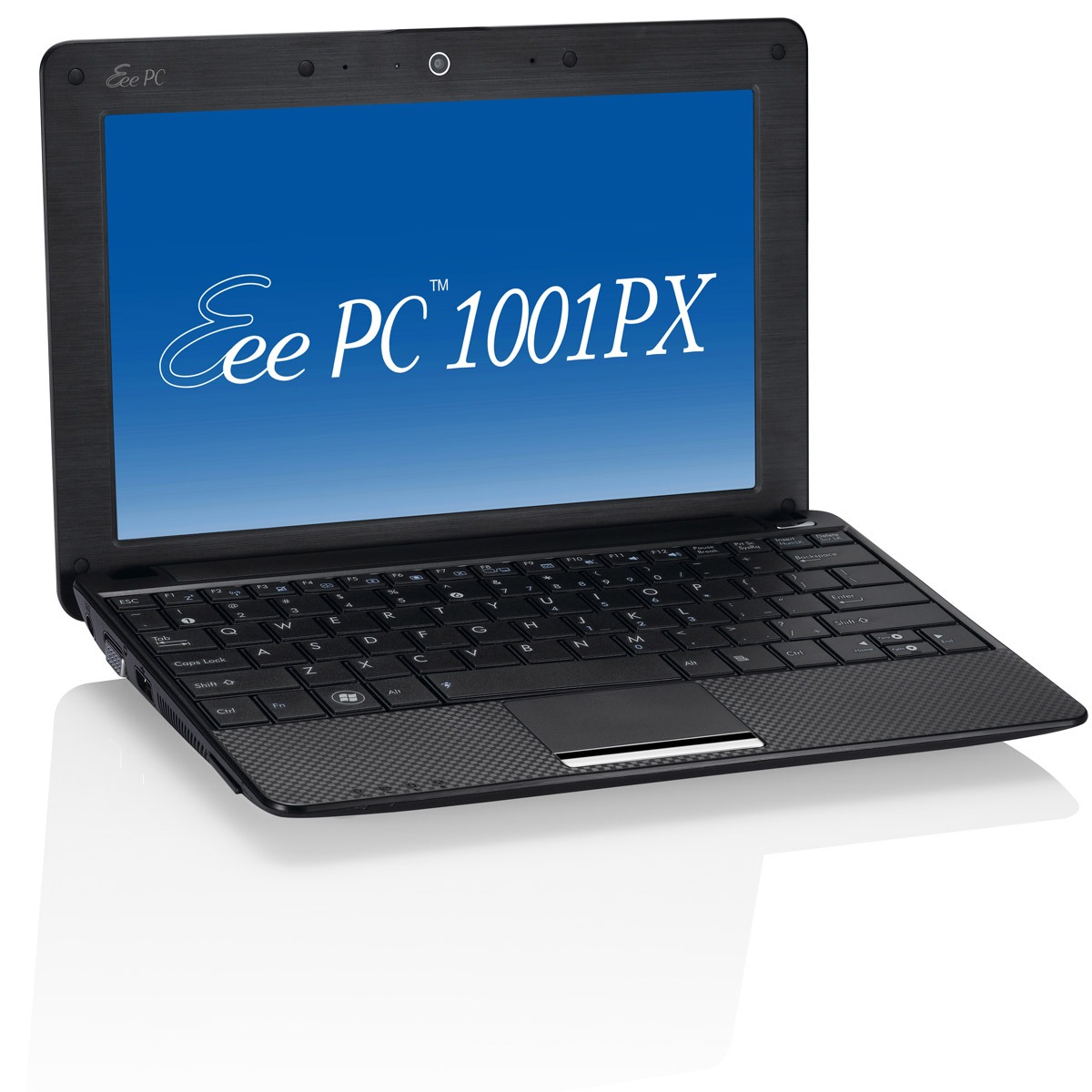 "LDLC.com ASUS Eee PC 1001PX ASUS Eee PC 1001PX Noir - Intel Atom N450 1 Go 160 Go 10.1"" LED Wi-Fi G Webcam XP Home"