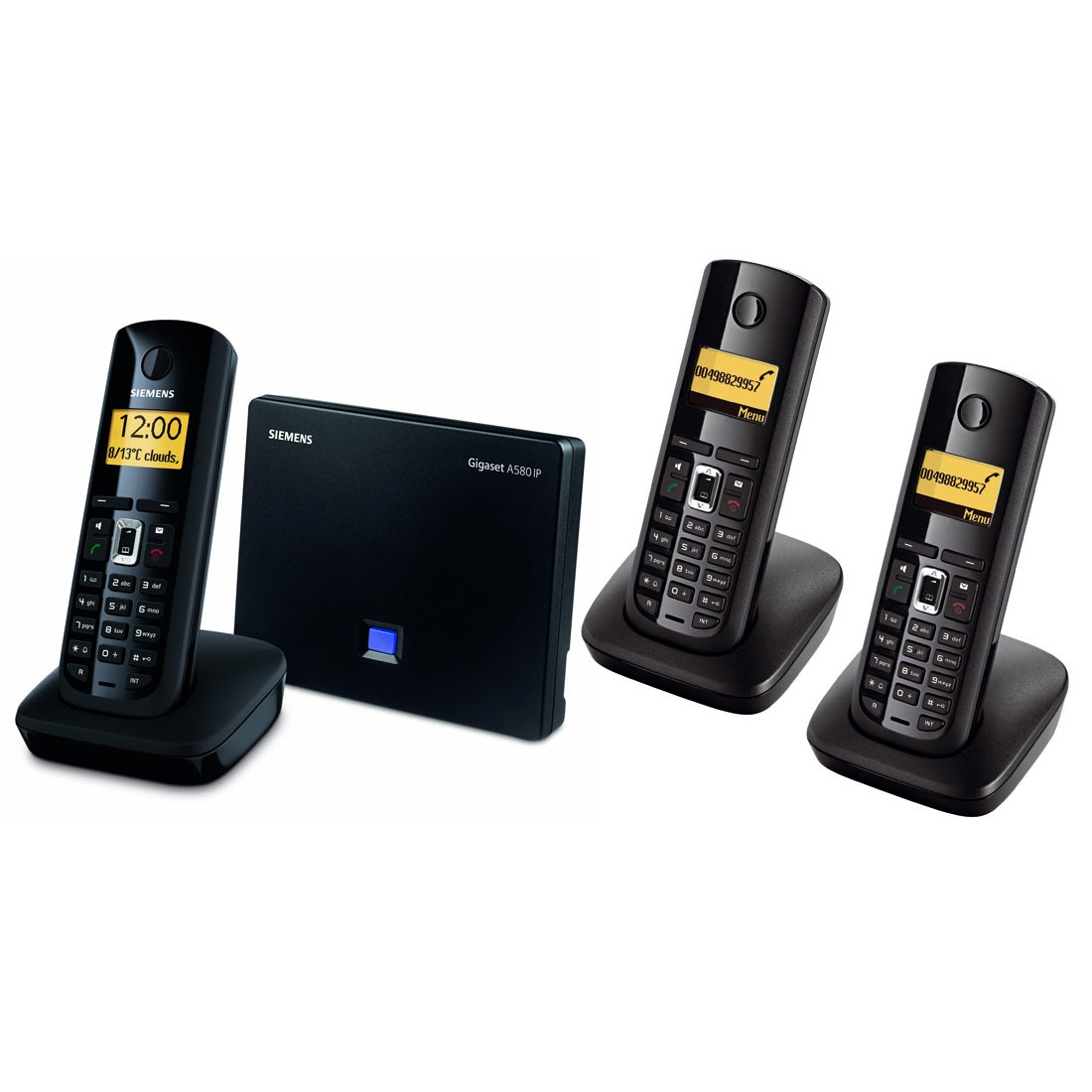 siemens gigaset a580 ip trio t l phone sans fil siemens. Black Bedroom Furniture Sets. Home Design Ideas