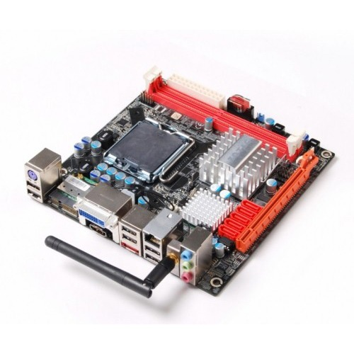 Carte mère ZOTAC G43ITX-A-E Carte mère Mini ITX Socket 775 Intel G43 Express