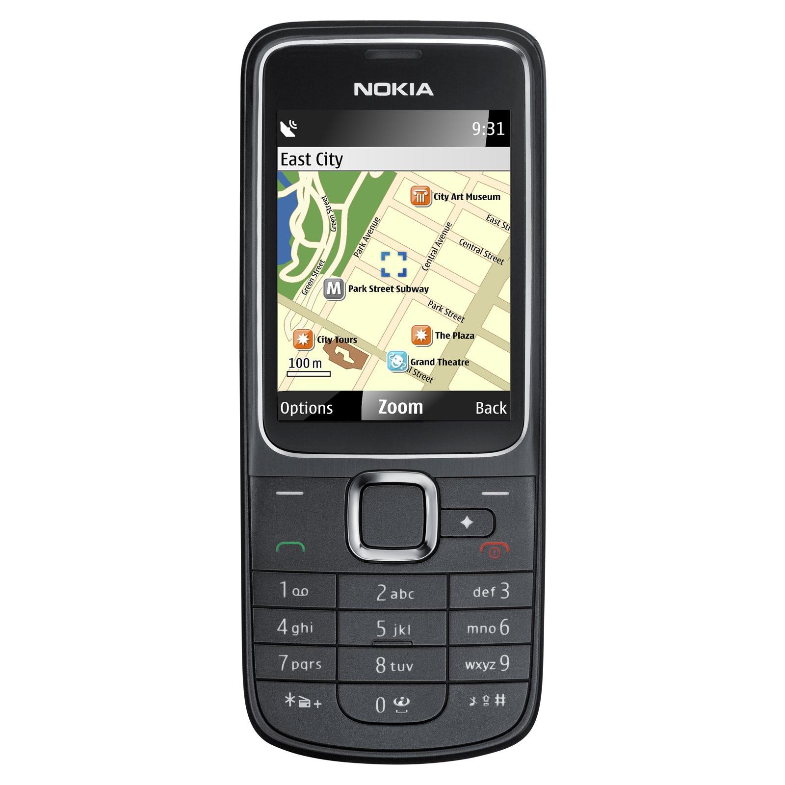 nokia 2710 navigation noir mobile smartphone nokia sur. Black Bedroom Furniture Sets. Home Design Ideas