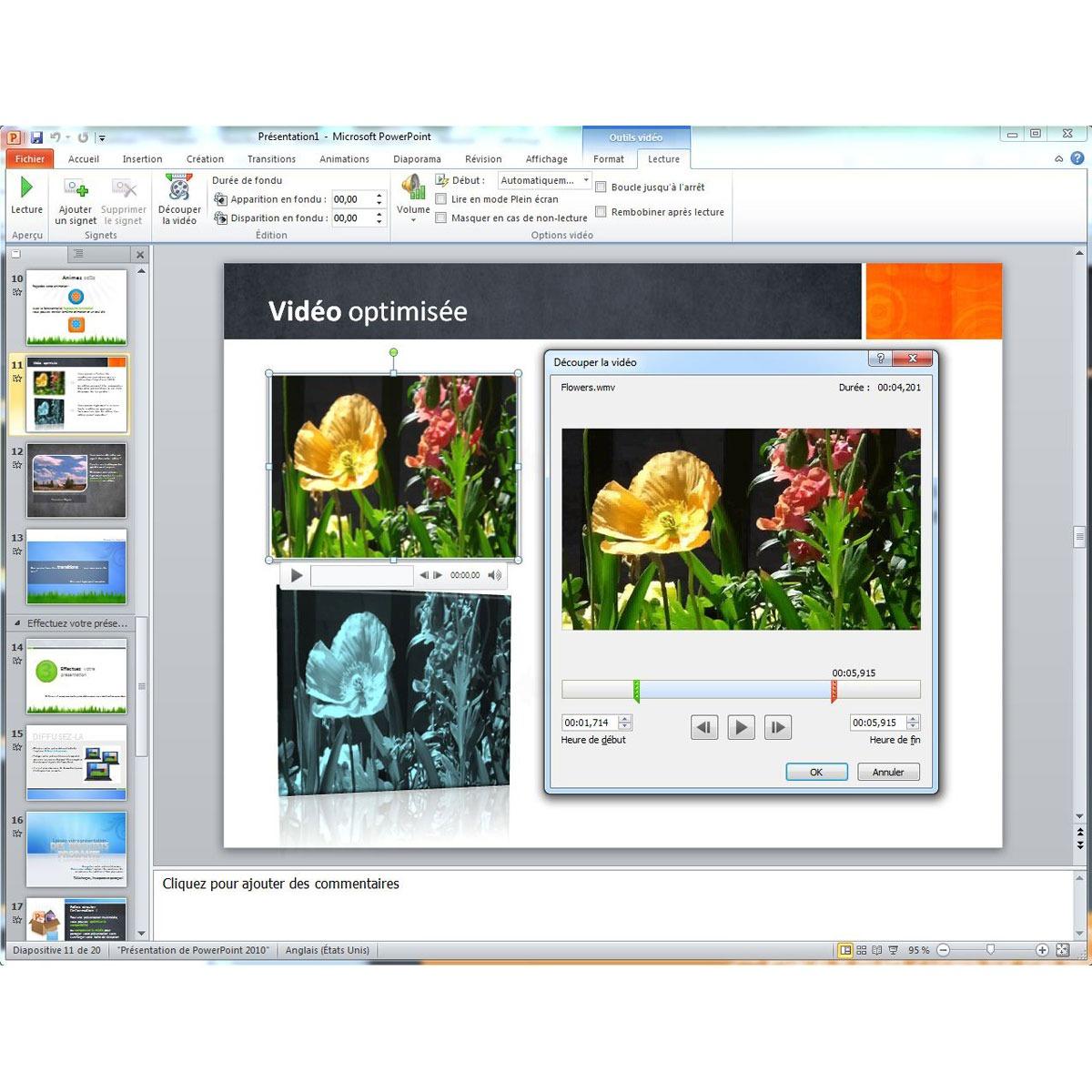 Microsoft office professionnel 2010 2 pc 1 utilisateur dvd logiciel bureautique - Office professionnel 2010 ...