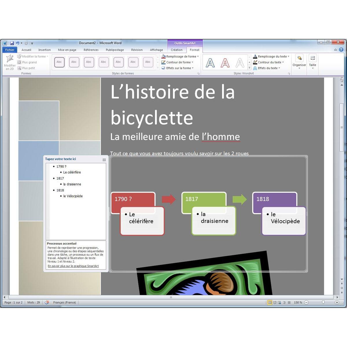 microsoft office famille et petite entreprise 2010 1 pc carte d 39 activation logiciel. Black Bedroom Furniture Sets. Home Design Ideas