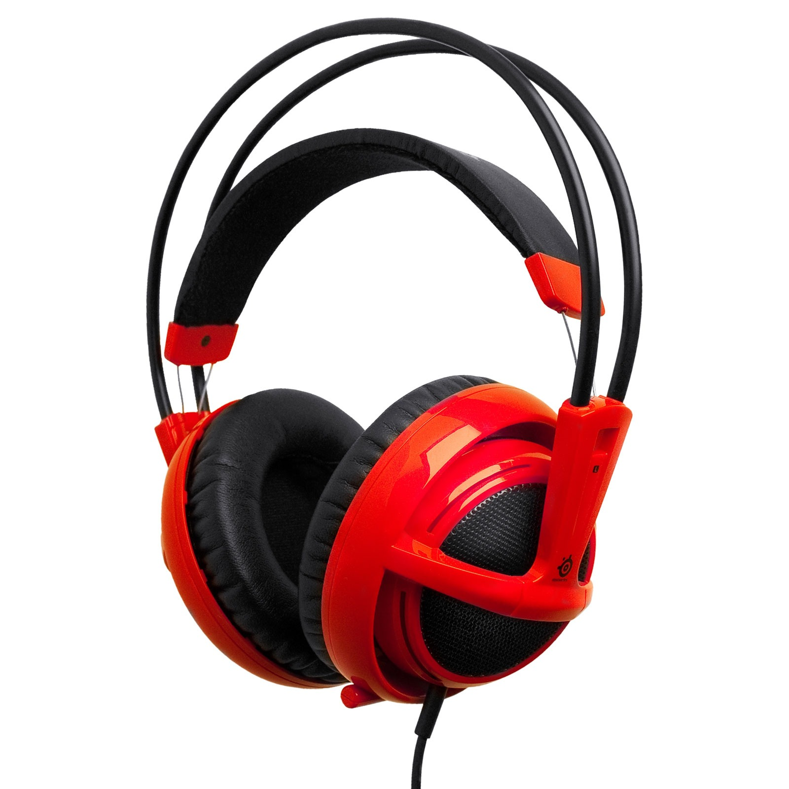 steelseries siberia v2 rouge micro casque steelseries. Black Bedroom Furniture Sets. Home Design Ideas