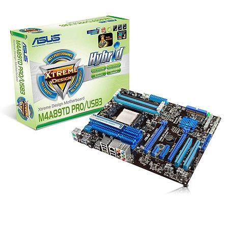 Carte mère ASUS M4A89TD PRO/USB3 Carte mère ATX Socket AM3 AMD 890FX