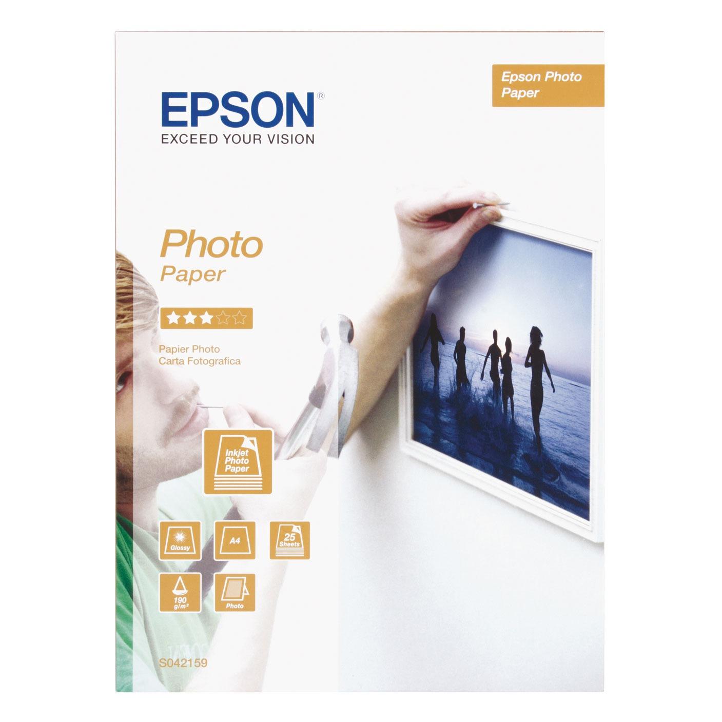 epson c13s042159 papier imprimante epson sur. Black Bedroom Furniture Sets. Home Design Ideas