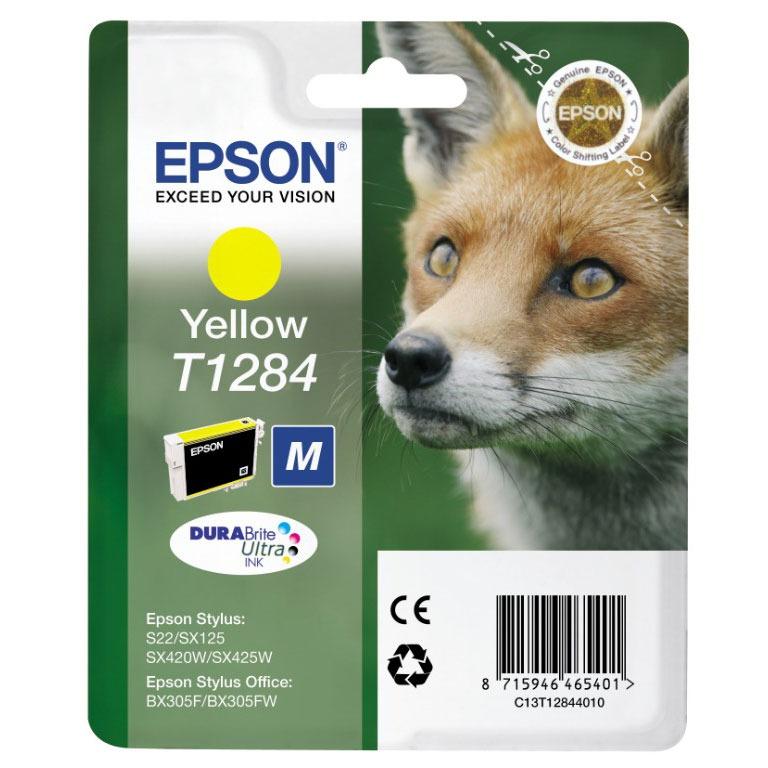 Cartouche imprimante Epson T1284 Cartouche d'encre jaune