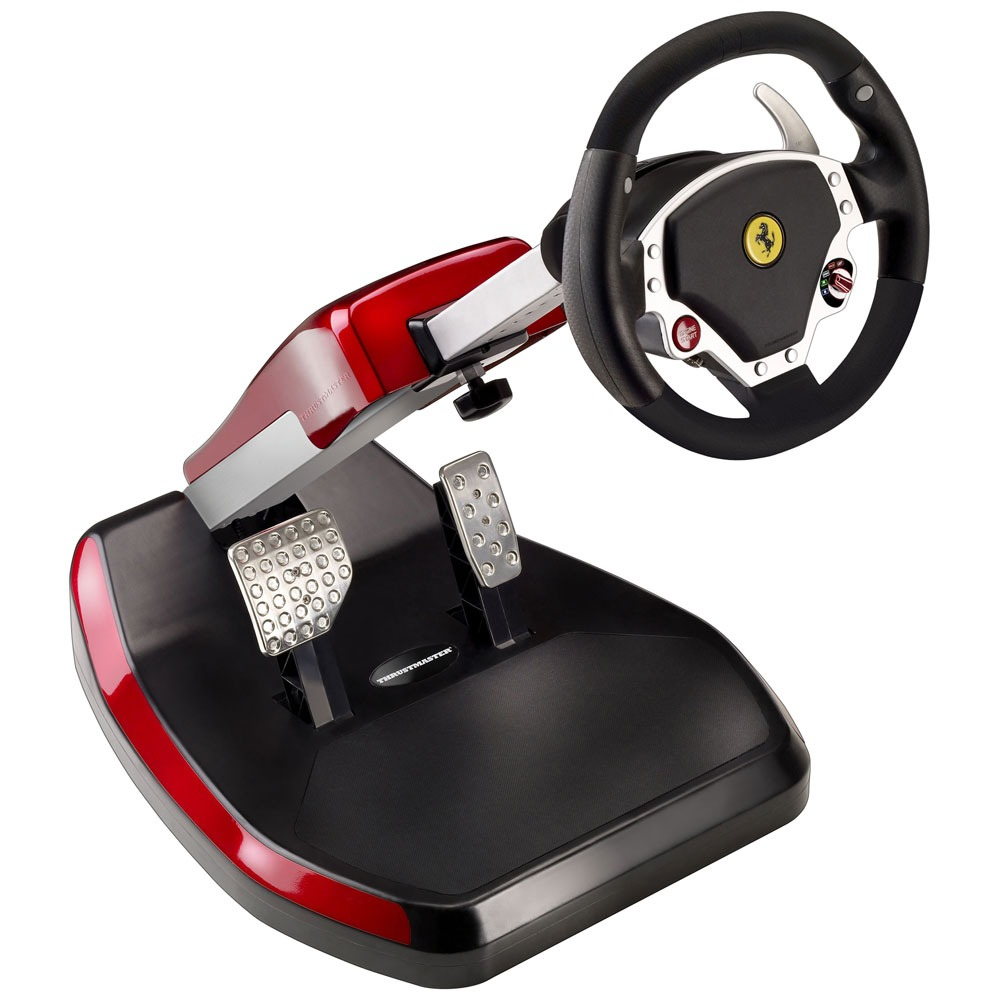 thrustmaster ferrari wireless gt cockpit 430 scuderia editon volant pc thrustmaster sur. Black Bedroom Furniture Sets. Home Design Ideas