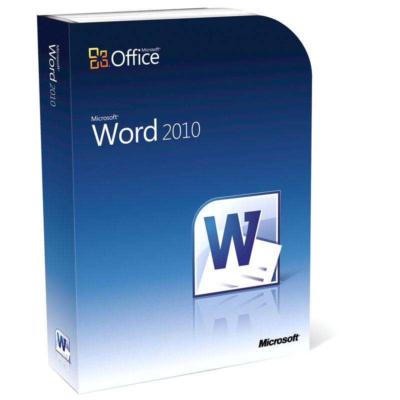 Microsoft word 2010 logiciel bureautique microsoft sur - Office famille et etudiant 2010 3 postes ...