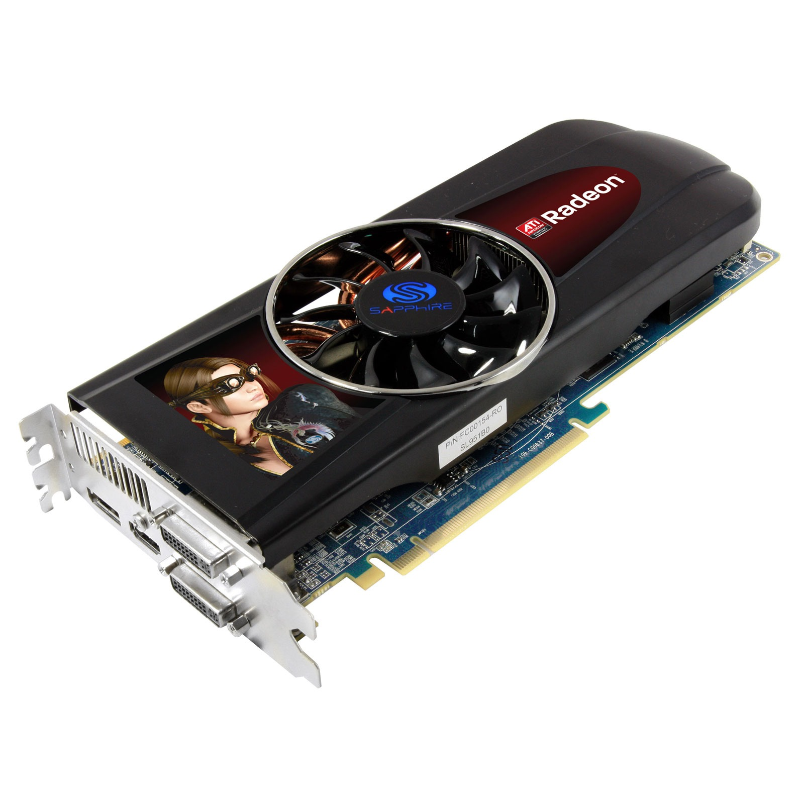 Carte graphique Sapphire Radeon HD 5850 1 GB 1 Go HDMI/Dual DVI/DisplayPort - PCI Express (ATI Radeon HD 5850)