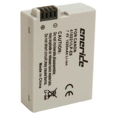 Batterie appareil photo Eneride Batterie compatible LP-E8 Batterie compatible LP-E8 (pour Canon EOS 550D)