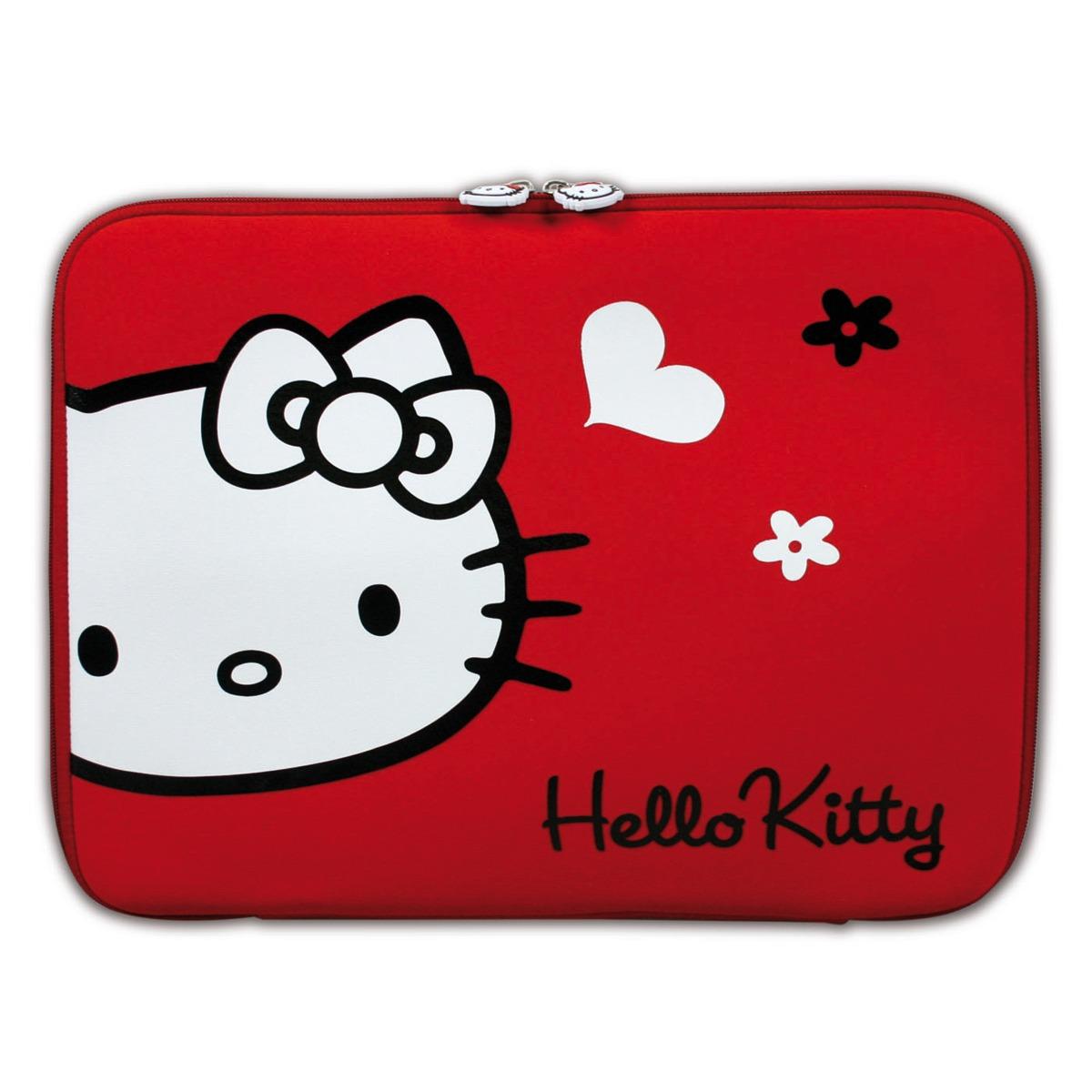port designs hello kitty skin 15 6 rouge sac sacoche housse port designs sur. Black Bedroom Furniture Sets. Home Design Ideas