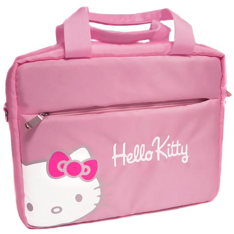 port designs hello kitty bag 15 6 rose sac sacoche housse port designs sur. Black Bedroom Furniture Sets. Home Design Ideas