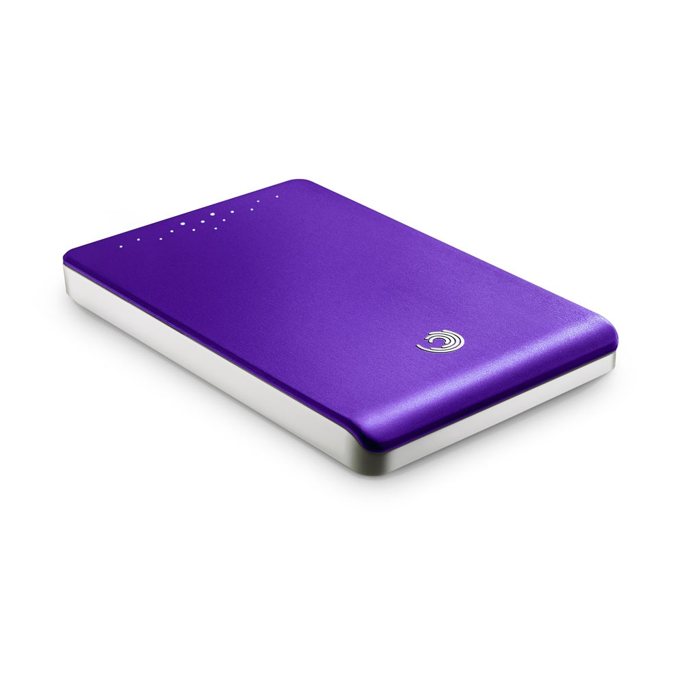 seagate freeagent go 500 gb violet disque dur externe. Black Bedroom Furniture Sets. Home Design Ideas