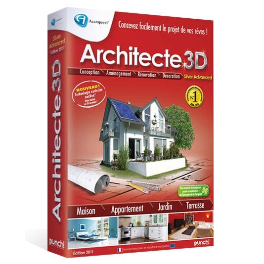 Architecte 3d nexgen 2011 silver avanquest for Architecte 3d aide
