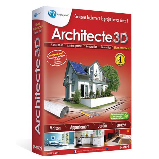 Architecte 3d nexgen 2011 silver advanced for Architecte 3d 2011 ultimate