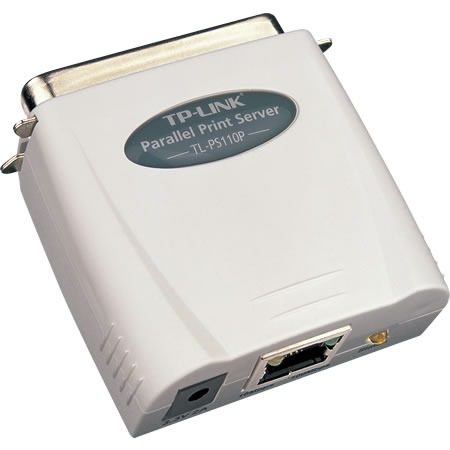 Serveur d'impression TP-LINK TL-PS110P Serveur d'impression 1 port 10/100 Mbps, 1 port parallèle