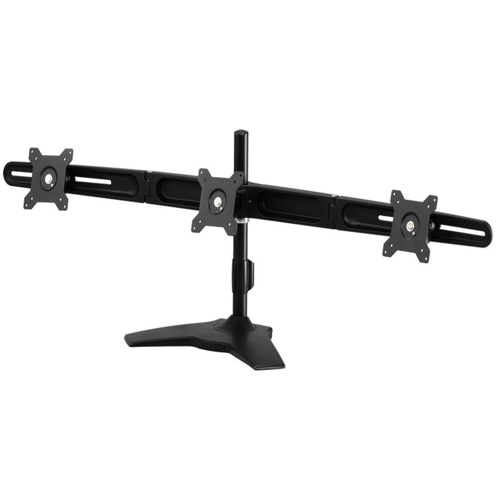 ldlc support de bureau pour 3 crans plats de 15 24 bras pied ldlc sur. Black Bedroom Furniture Sets. Home Design Ideas