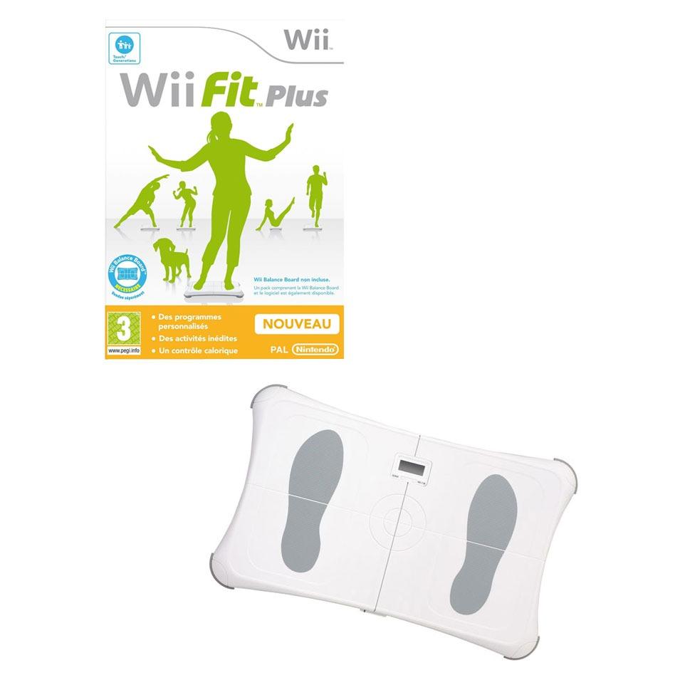 Balance Board Xbox One: Wii Fit Plus + Bigben Balance Board (Wii)