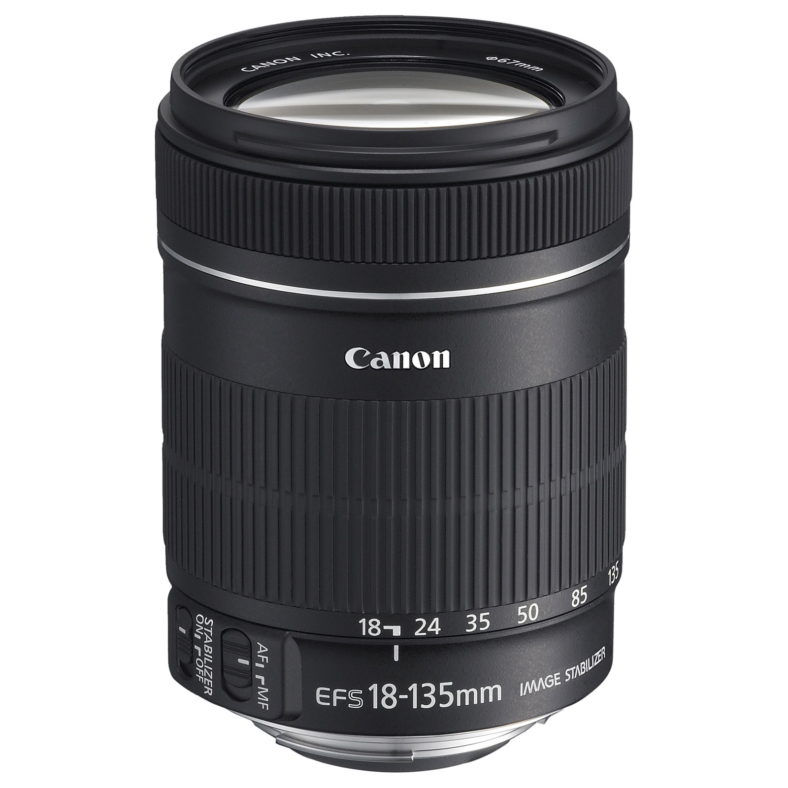 Objectif appareil photo Canon EF-S 18-135mm f/3.5-5.6 IS Zoom transtandard stabilisé
