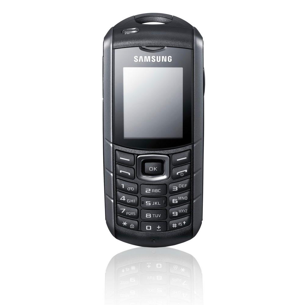 Mobile & smartphone Samsung E2370 Noir/Argent Téléphone 2G baroudeur certifié IP54