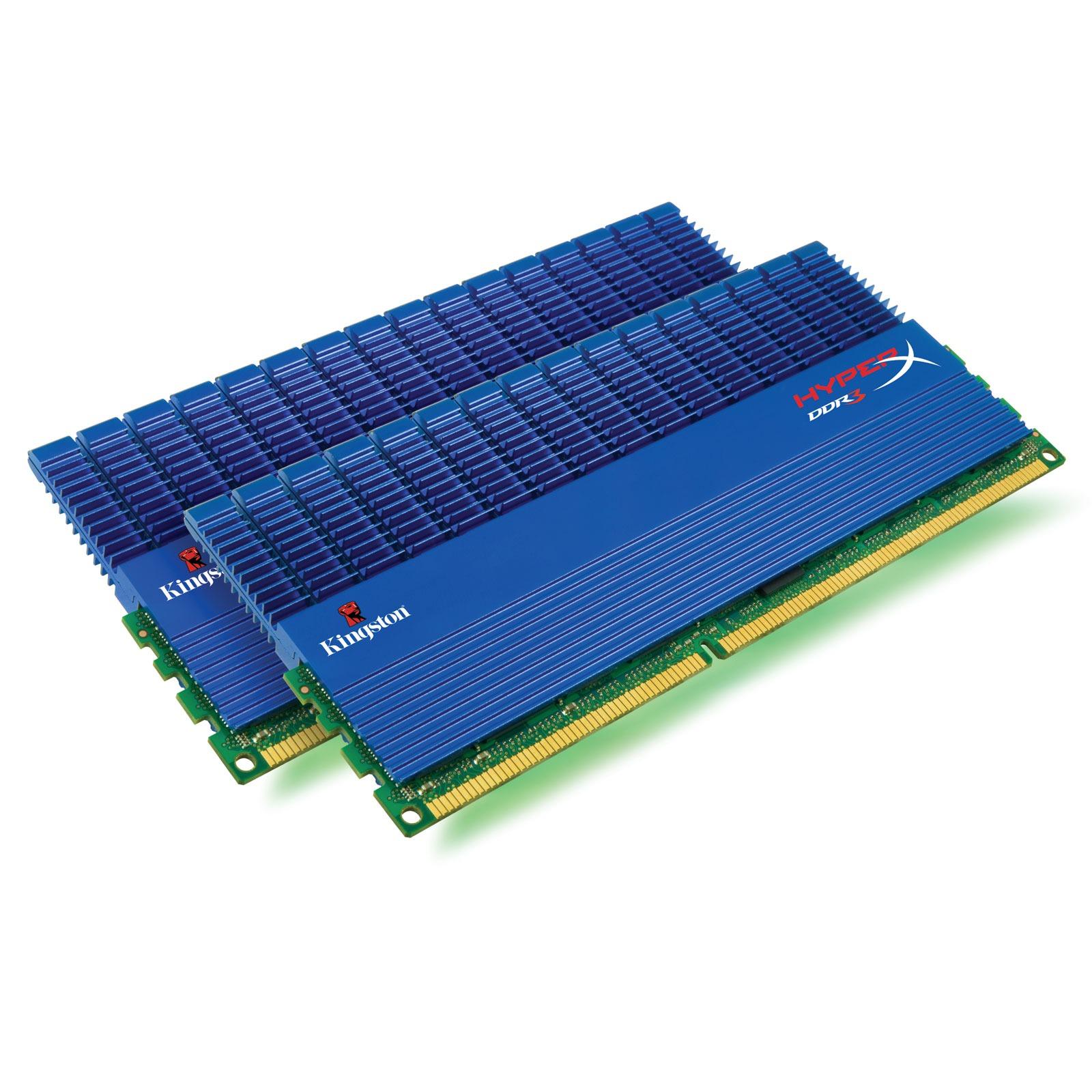 Mémoire PC Kingston XMP T1 8 Go (2x 4Go) DDR3 2000 MHz Kingston XMP T1 8 Go (kit 2x 4 Go) DDR3-SDRAM PC3-16000 CL9 - KHX2000C9D3T1K2/8GX (garantie 10 ans par Kingston)