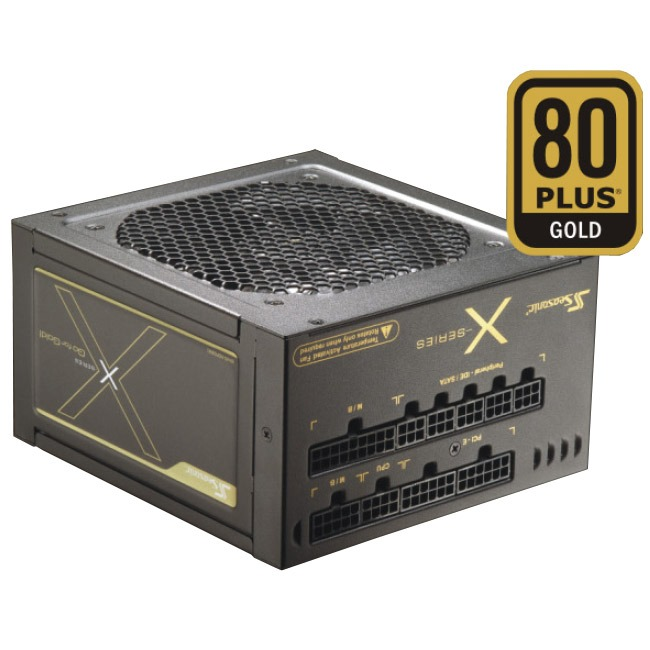 Alimentation PC Seasonic X-560 80PLUS Gold Alimentation 560W ATX 12V/EPS 12V - 80PLUS Gold