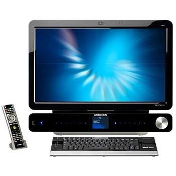 medion the touch x9613 md 97257 intel core 2 quad q9000 4 go 24 pc de bureau medion sur. Black Bedroom Furniture Sets. Home Design Ideas