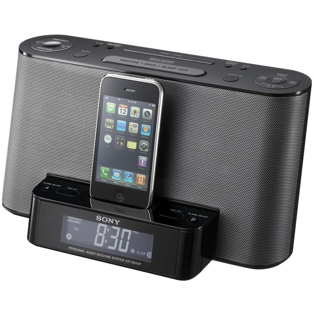 sony icf ds11ip dock enceinte bluetooth sony sur. Black Bedroom Furniture Sets. Home Design Ideas