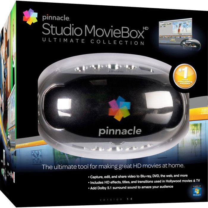 Carte d'acquisition Pinnacle Studio MovieBox Ultimate Collection version 14 Pinnacle Studio MovieBox Ultimate Collection version 14