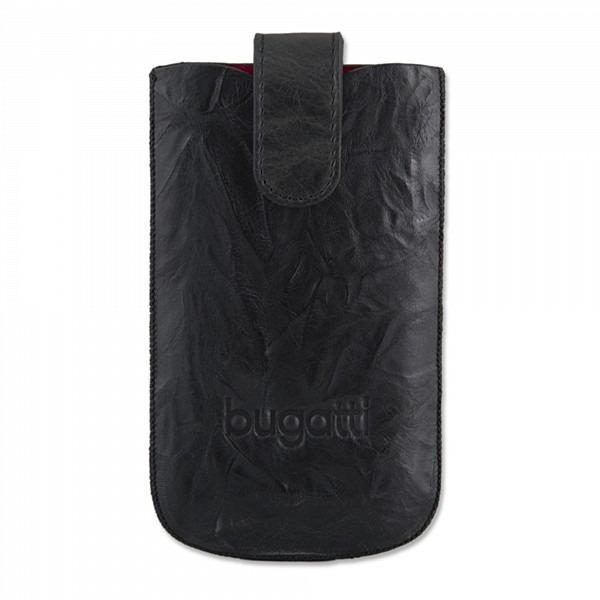 Etui téléphone Bugatti SlimCase Unique M noir carbone - Etui en cuir universel (pour téléphones portables) Bugatti SlimCase Unique M noir carbone - Etui en cuir universel (pour téléphones portables)