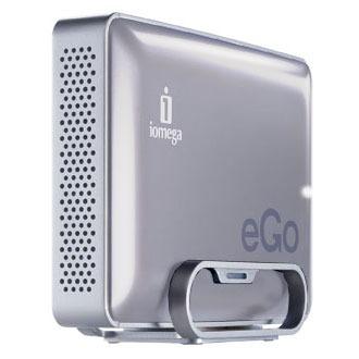"""Disque dur externe Iomega eGO Desktop Hard Drive Mac Edition 1 To Argent (USB 2.0/FireWire 800) Disque dur externe 3.5"""" sur port USB 2.0/FireWire 800"""
