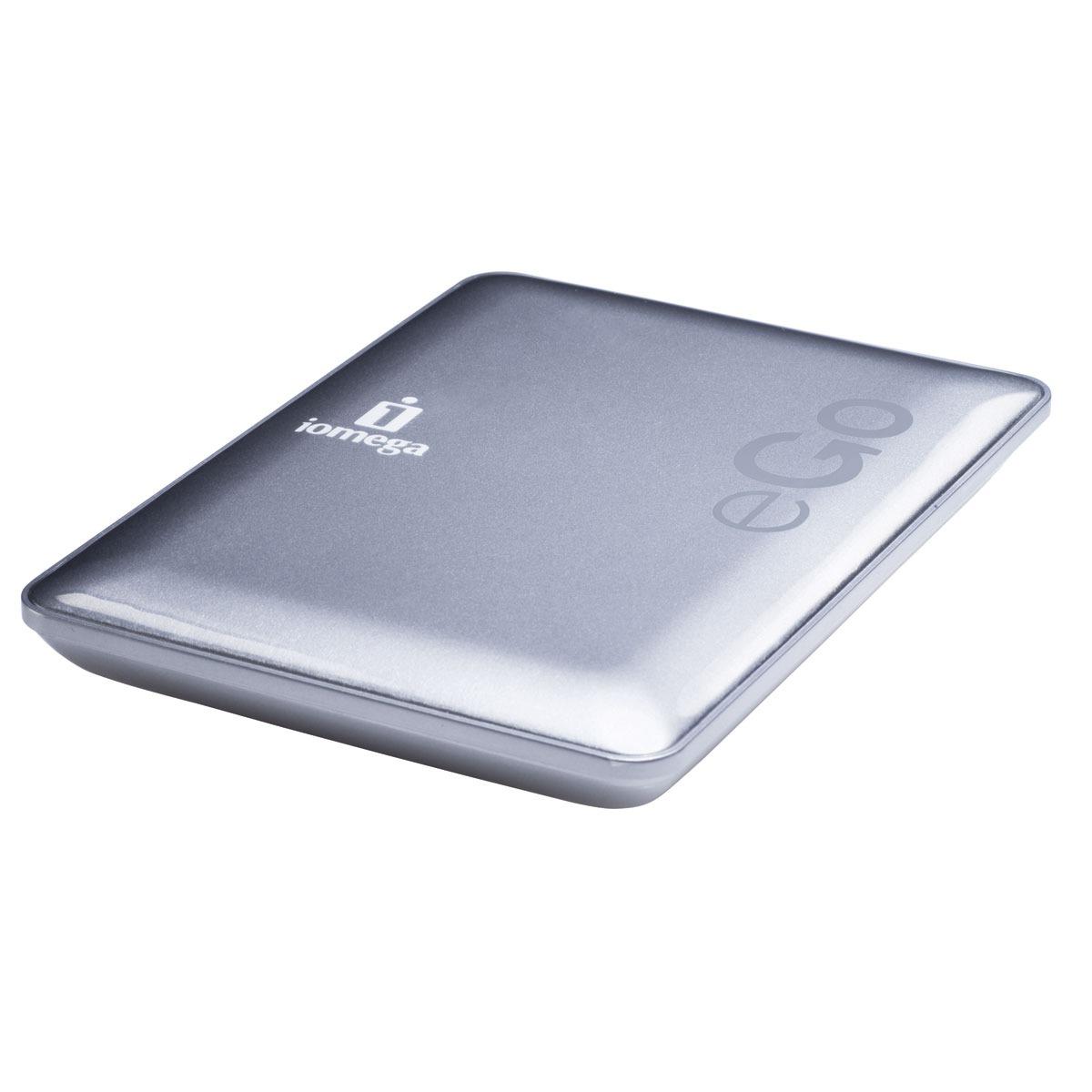 iomega ego compact portable hard drive 1 to disque dur. Black Bedroom Furniture Sets. Home Design Ideas