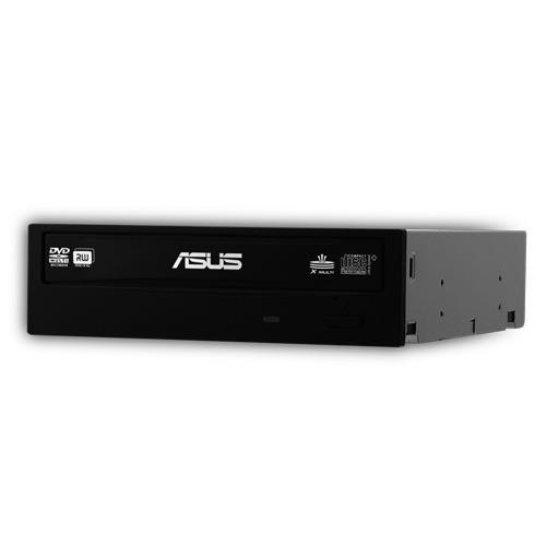 Lecteur graveur ASUS DRW-24B3ST ASUS DRW-24B3ST - DVD(+/-)RW/RAM 24/8/24/6/12x DL(+/-) 12/12x CD-RW 48/24/48x SATA - Noir