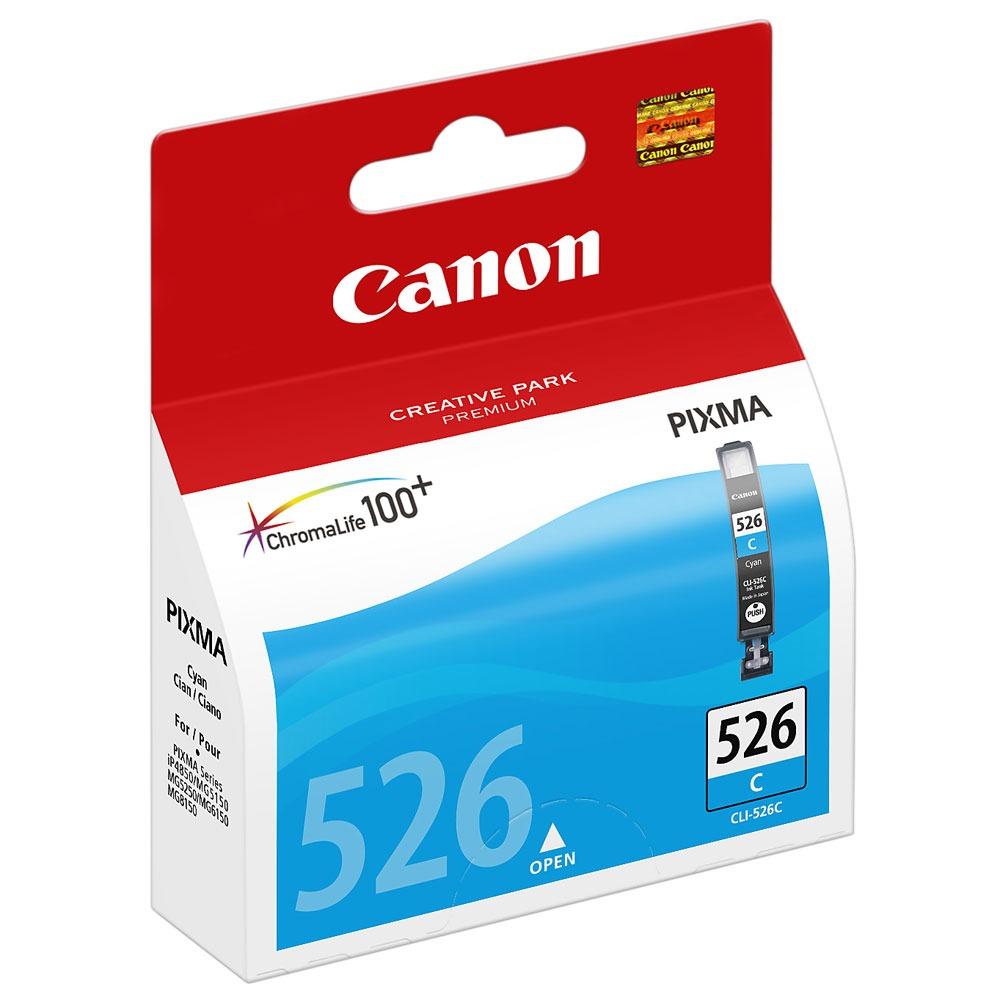 Cartouche imprimante Canon CLI-526C Cartouche d'encre cyan
