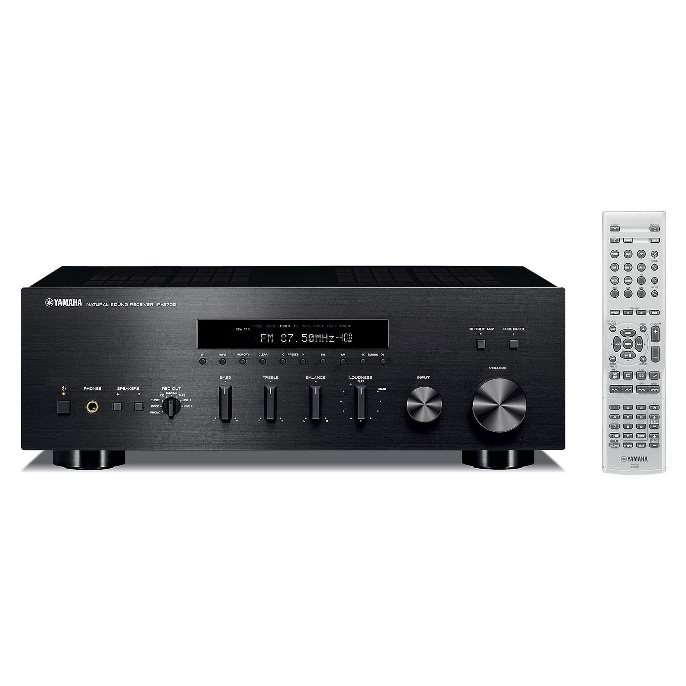yamaha r s700 noir amplificateur hifi yamaha sur