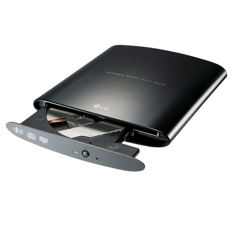 Lecteur graveur LG GP08NU06 LG GP08NU06 - DVD(+/-)RW/RAM 8/8/8/6/5x DL(+/-) 6/6x CD-RW 48/24/24x Externe Noir