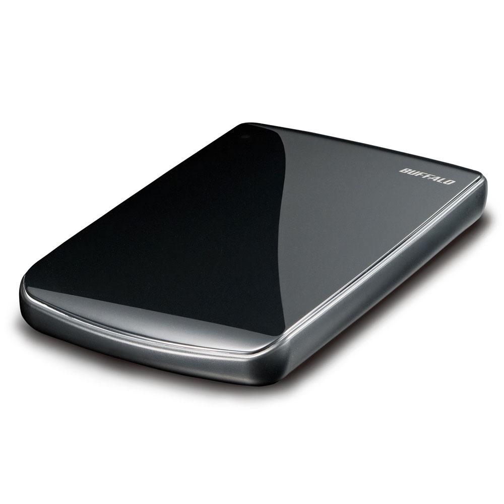 Disque dur externe Buffalo MiniStation Lite 500 GB Buffalo MiniStation Lite 500 Go - Disque dur externe - Noir (USB 2.0)