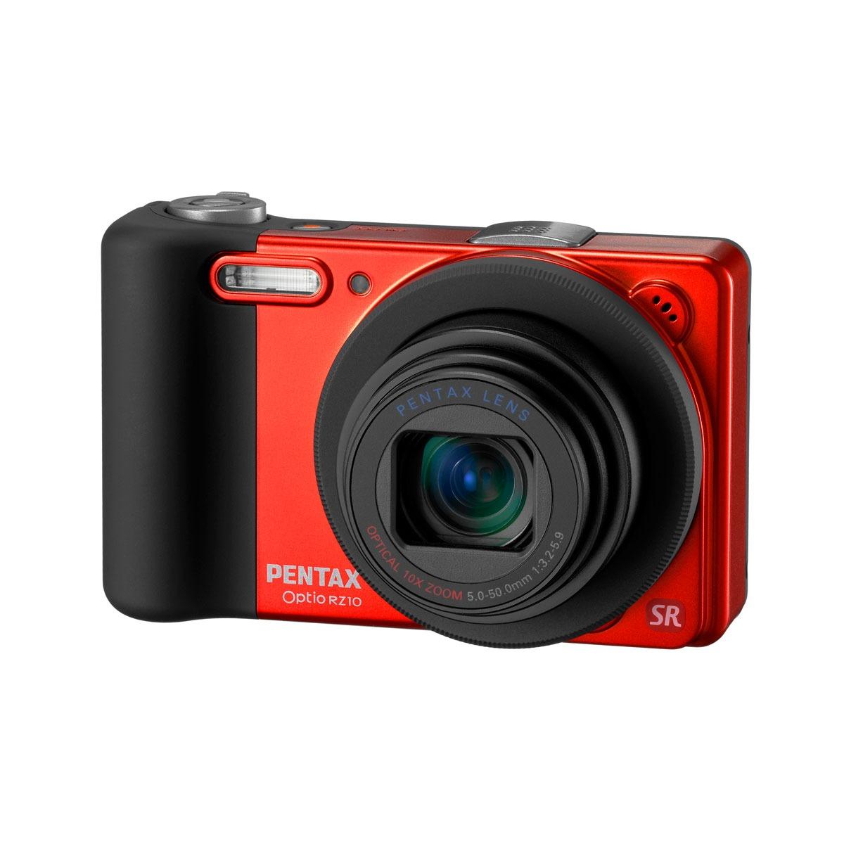 pentax optio rz10 orange appareil photo num rique pentax. Black Bedroom Furniture Sets. Home Design Ideas