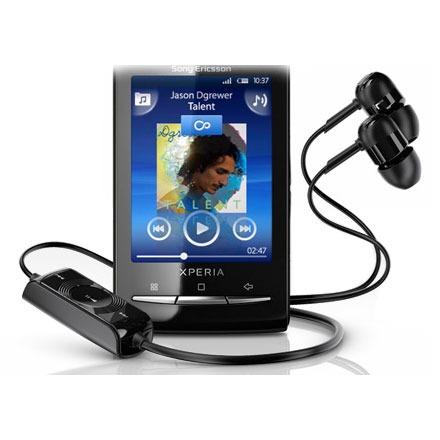 Kit piéton et Casque Sony Ericsson MH810 Noir Sony Ericsson MH810 Noir - Kit mains libres